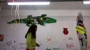 croco pe perete
